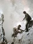 Mummery na dolomitském štítu Cristallo
