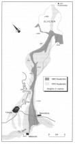 Rozsah katastrof pod Huascaránem v letech 1962 a 1970 (převzato: SMITH, K., 2002,)
