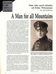 Profil Fritze Wiessnera;  dobový tisk 1 (Climbing 12/1998)